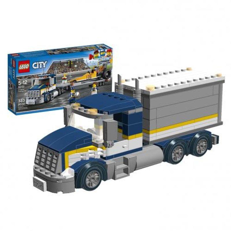 LEGO MOC-5976 #60151 Truck mod (Town 2016) | Rebrickable