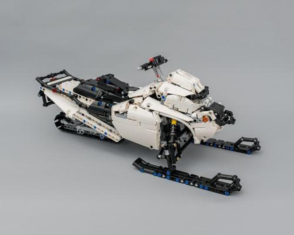 LEGO MOC-5979 LEGO Technic Snowmobile With SBrick (Technic