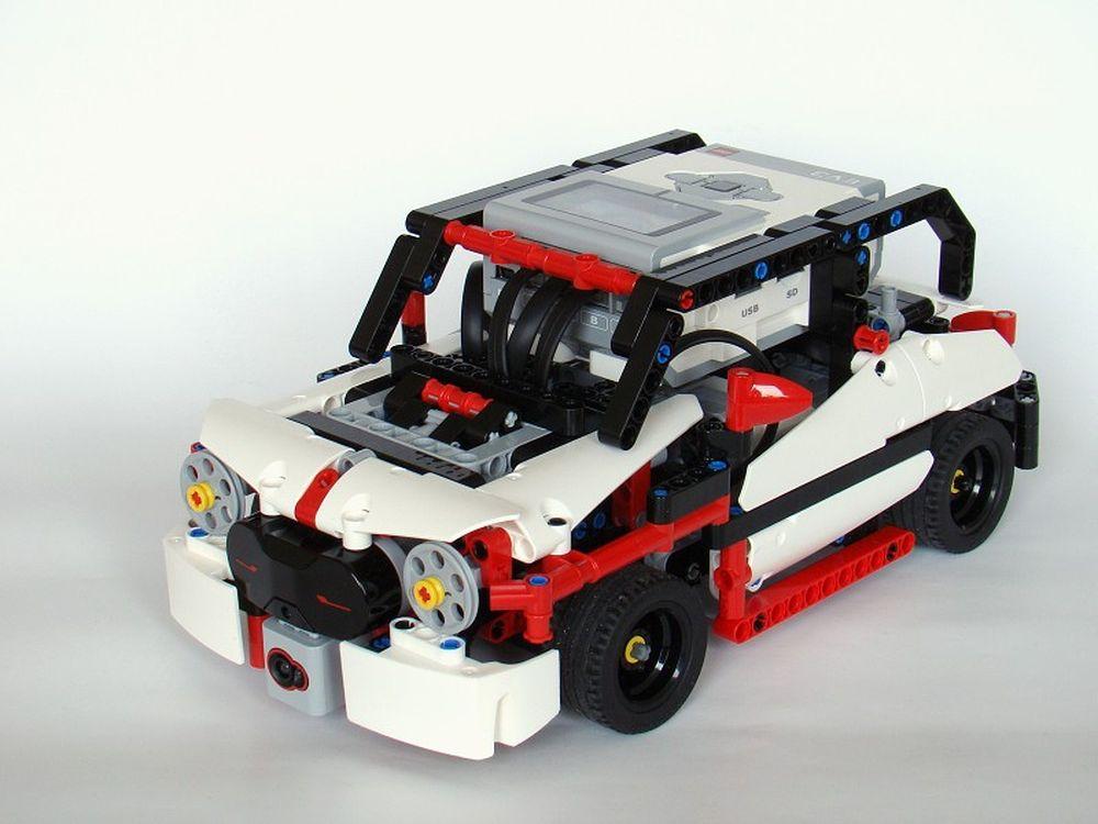 LEGO MOC-6213 31313: CLEV3R CAR (Mindstorms > EV3 2016