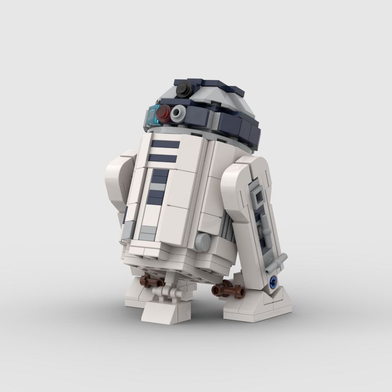 LEGO MOC-6266 Mini UCS R2-D2 (Star Wars 2017) | Rebrickable