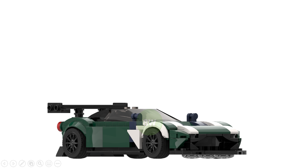 Lego Moc Aston Martin Vulcan By 8wideisbetter Rebrickable Build With Lego