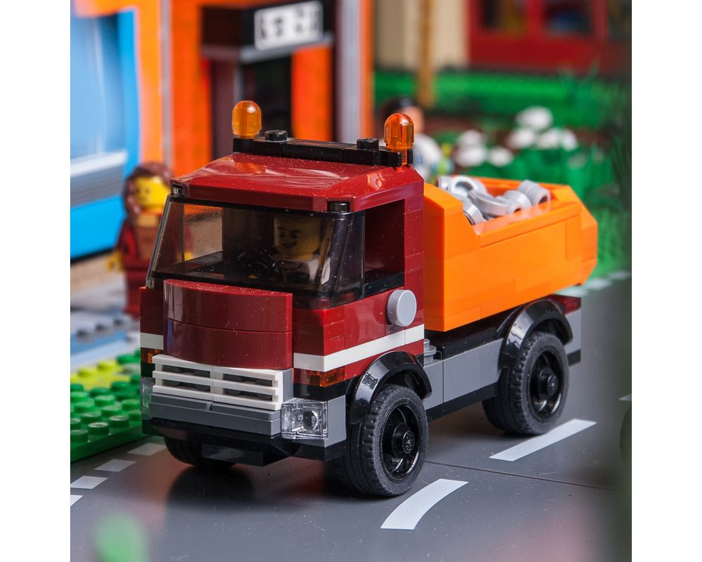 City series moc 6343 2017 legocity dump truck by keep on bricking mocbrickland