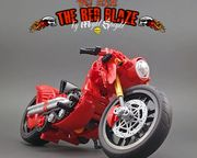 The Red Blaze Motorbike