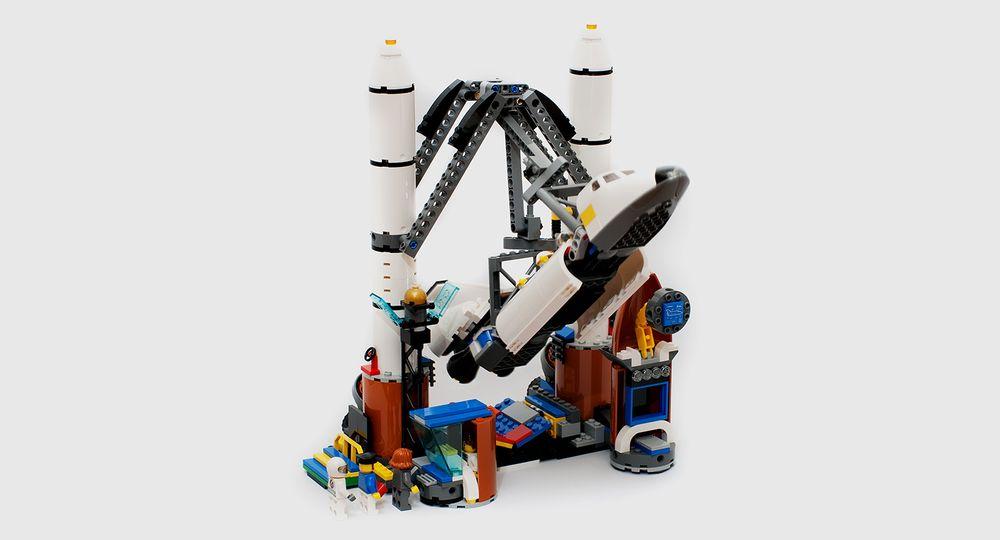 space shuttle lego moc - photo #25