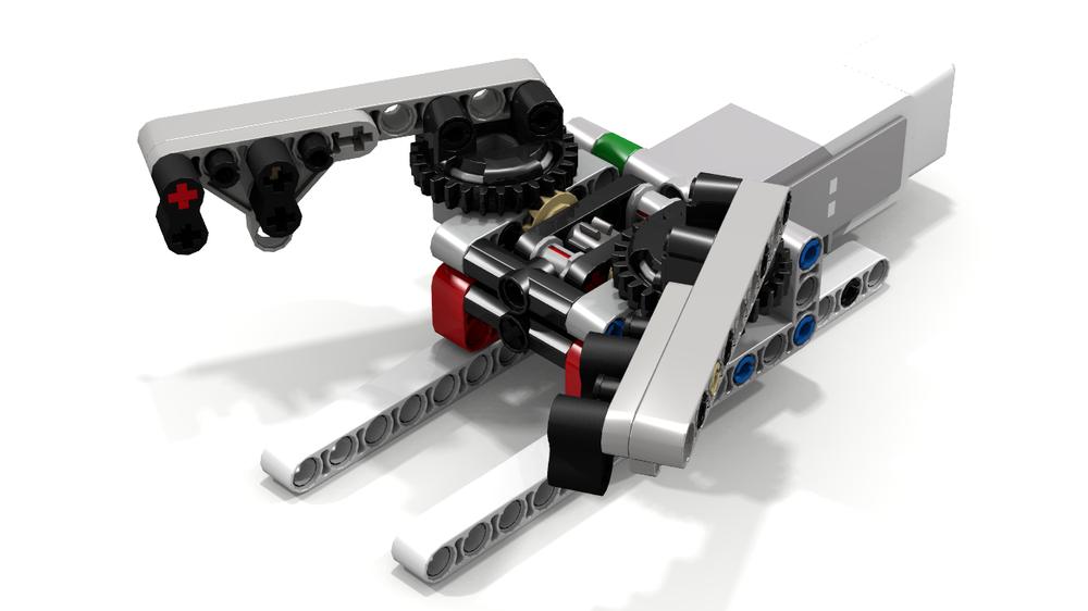 LEGO MOC-6946 EV3 Grab-and-Lift by Ogaworks (Mindstorms > EV3 2016