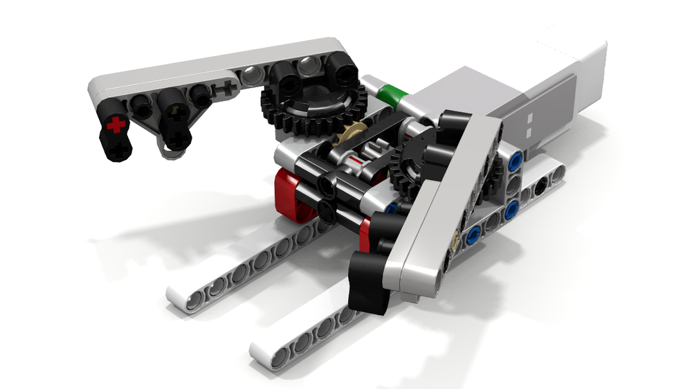 LEGO MOC-6946 EV3 Grab-and-Lift by Ogaworks (Mindstorms