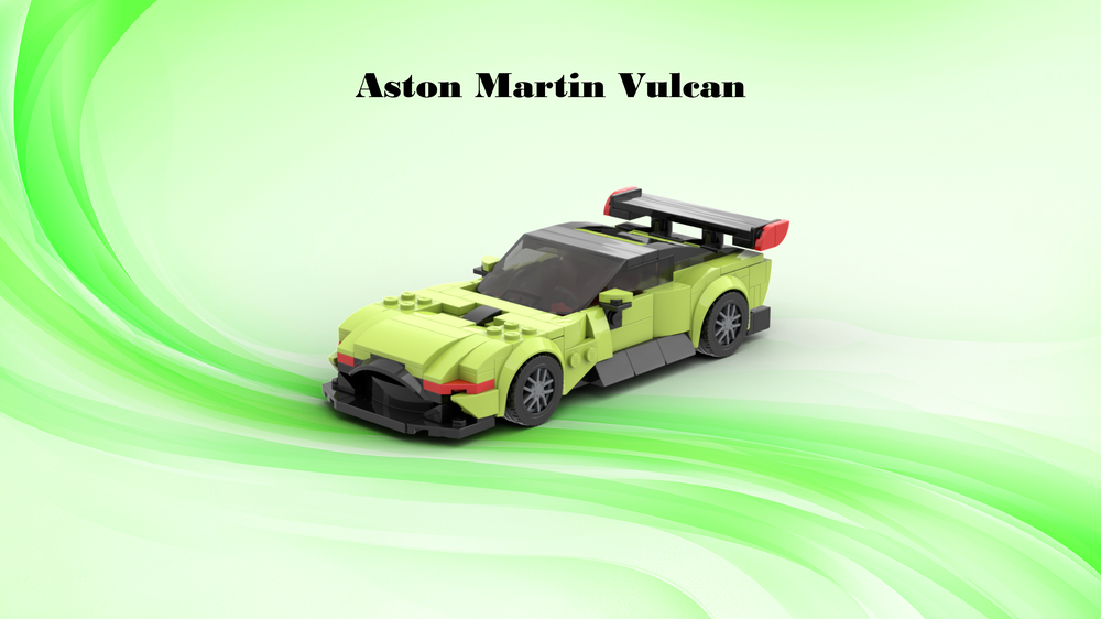 Lego Moc Speed Champion Aston Martin Vulcan By Armageddon1030 Rebrickable Build With Lego