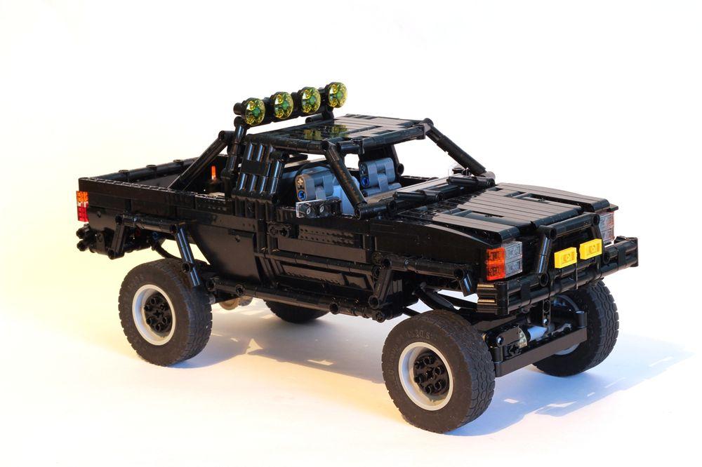 Build A Toyota >> Lego Moc 7203 Back To The Future Toyota Technic 2017 Rebrickable