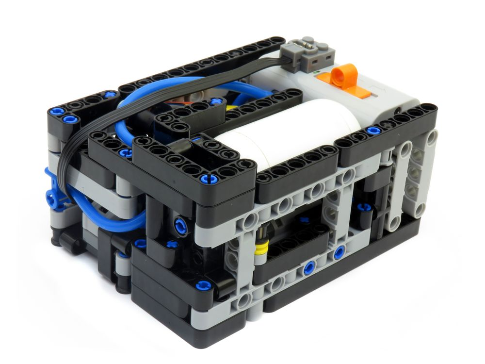 LEGO MOC-7377 Automatic Motorized Compressor (Technic 2017