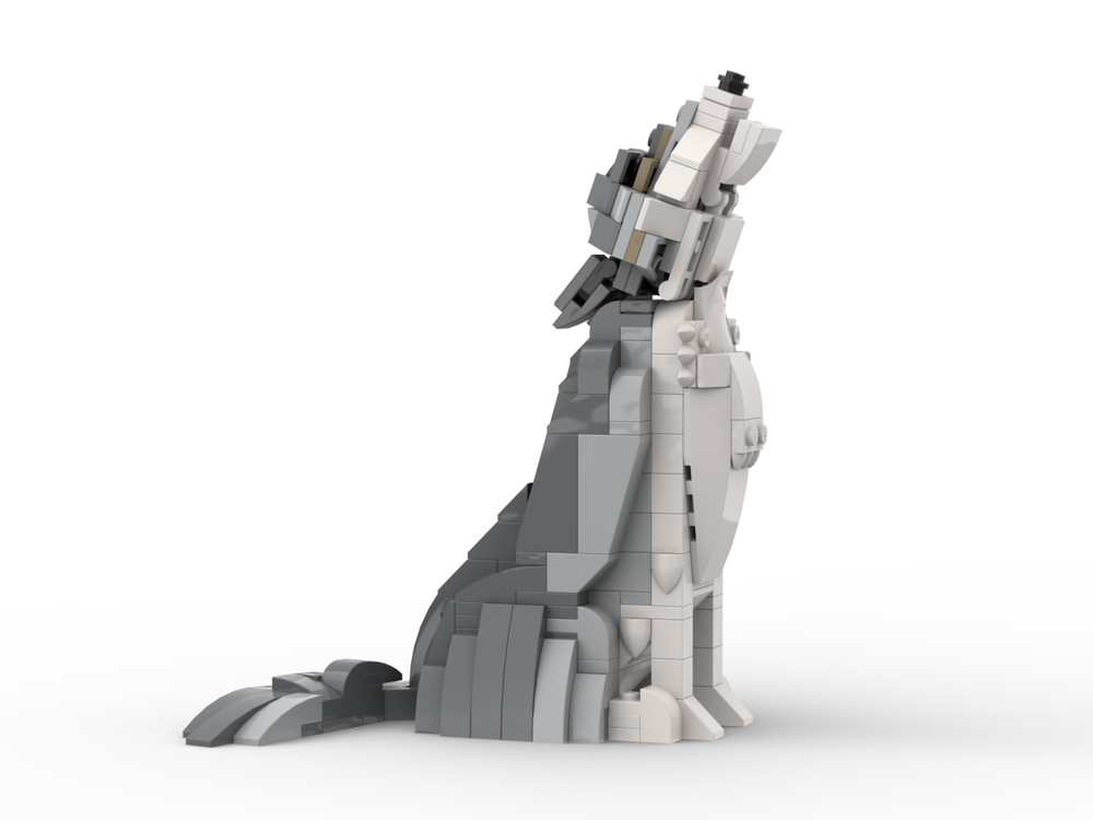 LEGO MOC-7509 Wolf (Creator 2017) | Rebrickable - Build with LEGO