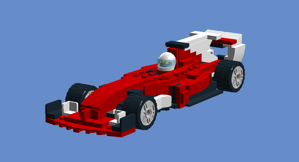 Lego Moc Ferrari Sf70h By Wadelaw Rebrickable Build With Lego