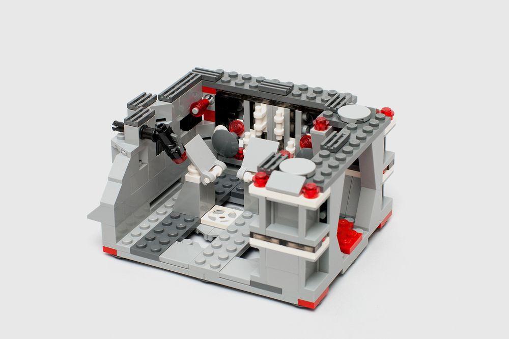 LEGO MOC-7782 Detention Block Rescue: Alternate Build for
