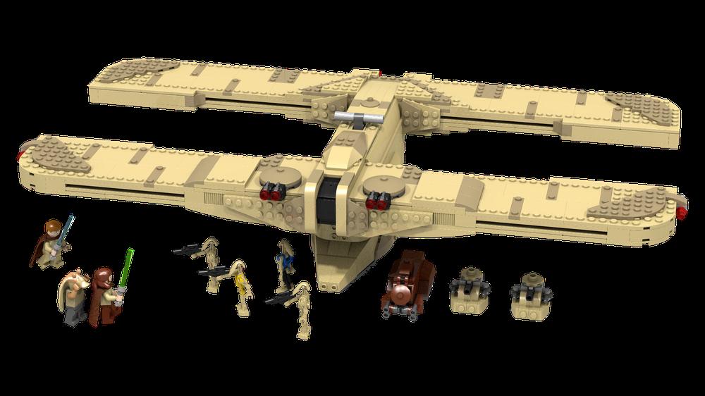 LEGO MOC-8001 C-9979 Landing Craft (Star Wars > Star Wars