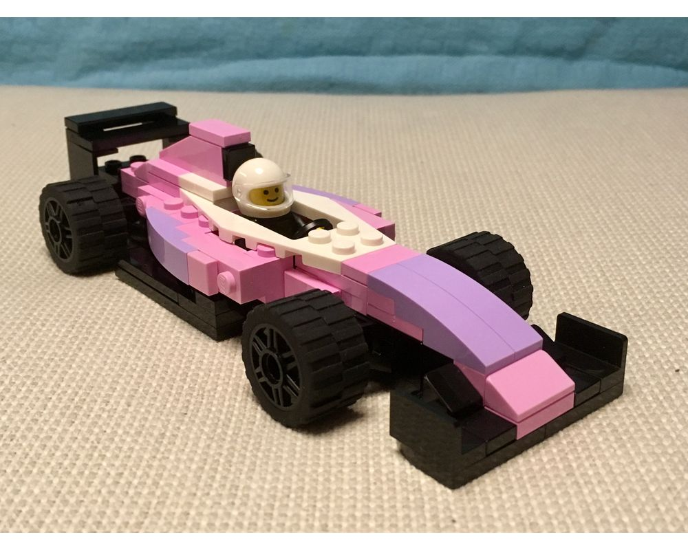 Lego Moc Formula 1 Force India 2017 Racing Car By Fidodido12 Rebrickable Build With Lego