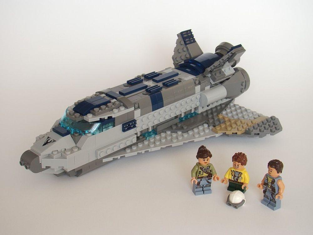 space shuttle lego moc - photo #28