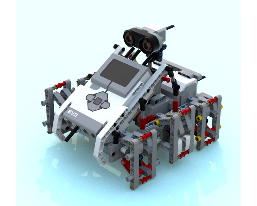 LEGO MOC-9119 EV3 Hexapod (Mindstorms > EV3 2016 ...