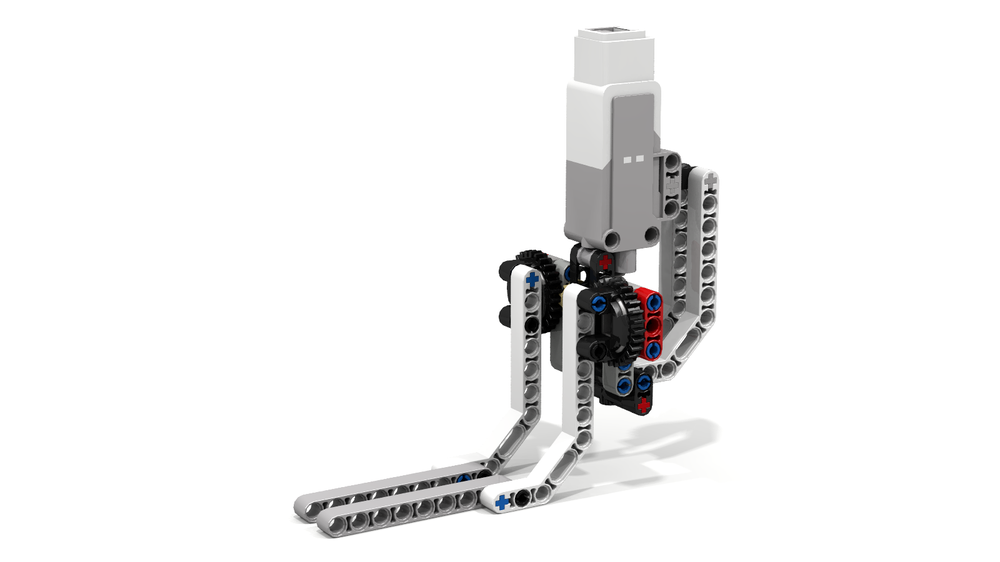 LEGO MOC-9360 EV3 Grab-and-Lift Grabber by RobotECK (Mindstorms