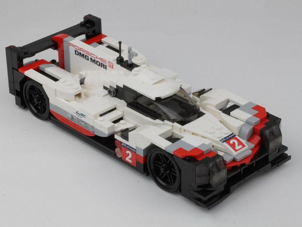 Lego Moc 9708 Porsche 919 Hybrid In Scale 120 Model Team