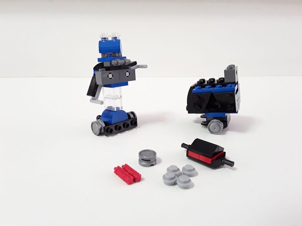 LEGO MOC-9783 31054 - Maiter D Bot (Creator > Basic Model > Robot