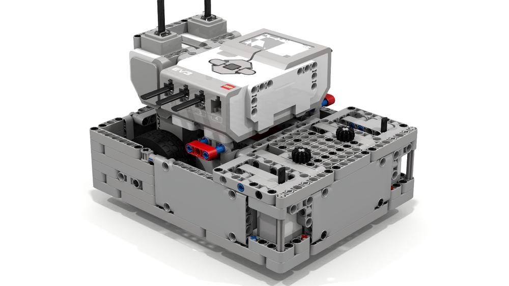LEGO MOC-9860 Kevin 5 0 EV3 Robot by