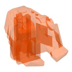 32554 LEGO Parts~ Bionicle Head Connector Block Eye//Brain Stalk TRANS GREEN 1