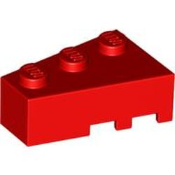 Lego 2x Wedge Aile 2x3 3x2 Right/&Left 6564 6565 Old Dark gray//gris//grau