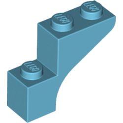LEGO part 88292 Brick Arch 1 x 3 x 2 in Medium Azure