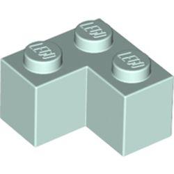 LEGO part 2357 Brick 2 x 2 Corner in Aqua/ Light Aqua