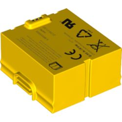 LEGO part 66757 Battery Pack, Rechargeable, for Small SPIKE Hub in Bright Yellow/ Yellow