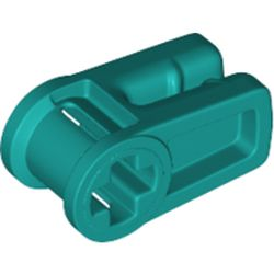LEGO part 49283 Wire Clip with Axle Hole in Bright Bluish Green/ Dark Turquoise