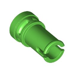 LEGO part 65826 Technic Pin 1/2 with Anti-Stud in Bright Green