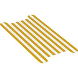 LEGO part 68061 Hammock with Yellow Stripes in White