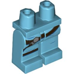 LEGO part 68682 MINI LOWER PART, NO. 1951 in Medium Azure