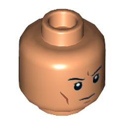 LEGO part 68714 MINI HEAD, NO. 3262 in Nougat