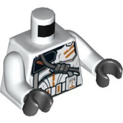LEGO part 76382 MINI UPPER PART, NO. 5216 in White