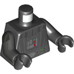 LEGO part 76382 MINI UPPER PART, NO. 5218 in Black