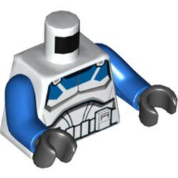 LEGO part 76382 MINI UPPER PART, NO. 5238 in White