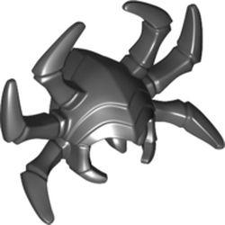 LEGO part 68035 Minifig Helmet 6 Spider Legs in Black