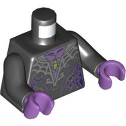 LEGO part 76382 MINI UPPER PART, NO. 5281 in Black
