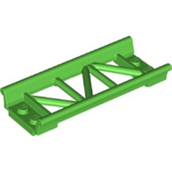 LEGO part  Track Roller Coaster Straight 8L in Bright Green