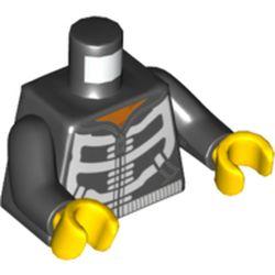 LEGO part 76382 MINI UPPER PART, NO. 5305 in Black