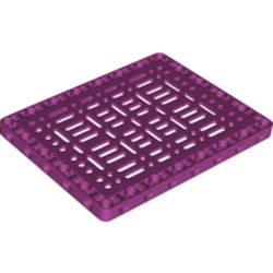 LEGO part 65817 Technic Beam Frame 11 x 15 with Internal Structure in Bright Reddish Violet/ Magenta