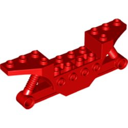 LEGO part 70682 Vehicle Frame in Bright Red/ Red