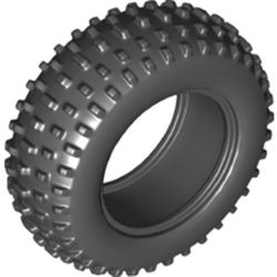 LEGO part 69909 Tyre Off Road, Dia. 75.1 X 28 in Black