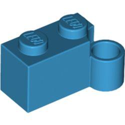 LEGO part 3831 Hinge Brick 1 x 4 [Lower] in Dark Azure