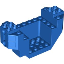 LEGO part 44665 Brick Special 4 x 12 x 4 - Plane Bottom in Bright Blue/ Blue