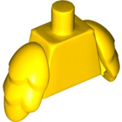 LEGO part 11938 Torso with Bird Wings [Plain] in Bright Yellow/ Yellow