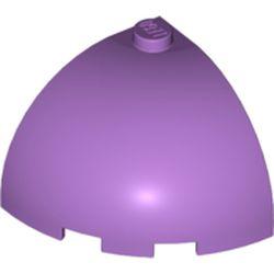 LEGO part 88293 Brick Round Corner 3 x 3 x 2 Dome Top in Medium Lavender