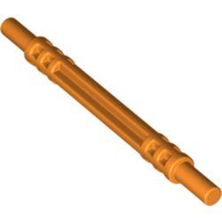 LEGO part 32580 Hose Soft Axle 7 in Bright Orange/ Orange
