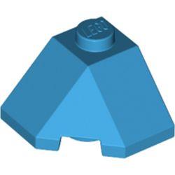 LEGO part 13548 Wedge Sloped 45° 2 x 2 Corner in Dark Azure